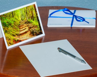 Entry to the Appalachian Trail - Notecards