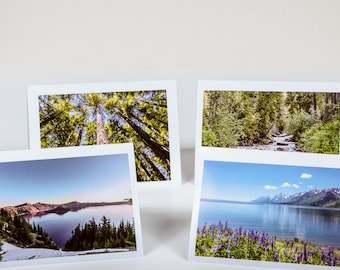 Scenic Note Cards of the Mountain States