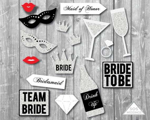 Bachelorette Photo Booth Signs Bridal Shower Photobooth Etsy