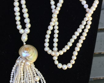 Women's Fresh Water Pearl Necklace