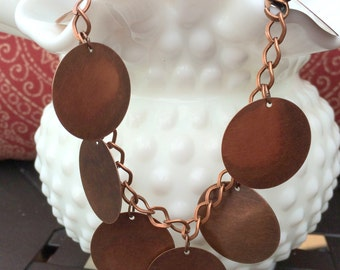 Copper Bangle Anklet