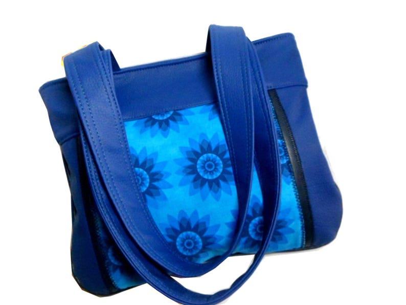 f437872afb8ed Indigo blau Handtasche Frau Hippie Boho chic Tasche Tasche