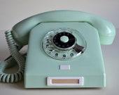 Vintage Rotary Phone, Mint Retro Landline Phone, Working Old Classic Phone, Bakelite Phone Nordfern DDR - Soviet Germany 60s Vintage Phone