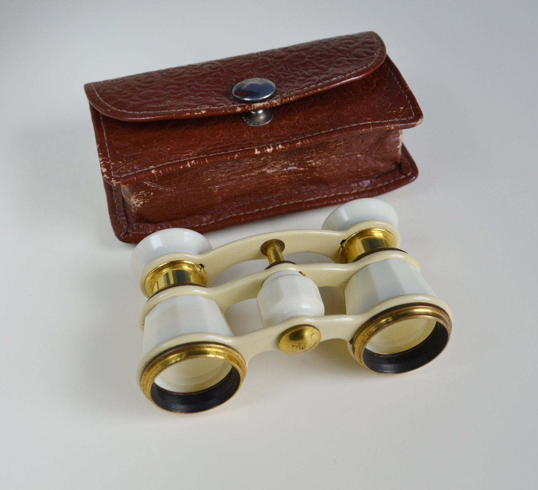 Soviet Opera Glasses Binoculars Working Russian Vintage