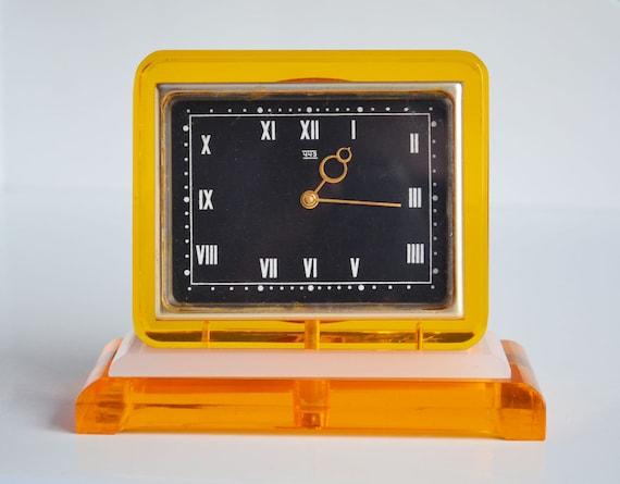 Cheminee Cheminee Vintage Horloge Horloge Russe Analogique Etsy