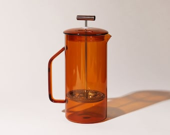 850 mL Glass French Press - Amber - Ships in late-October / early-November