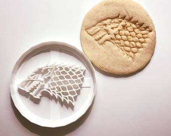Stark Cookie Cutter // Game of Thrones // 3D Printed
