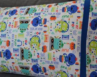 Rock n Roll Monsters Pillowcase