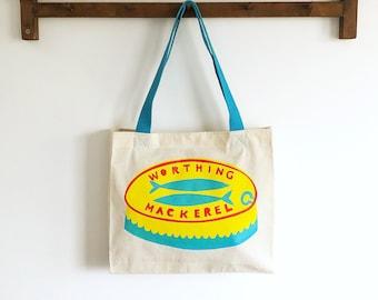 Worthing Mackerel tote bag