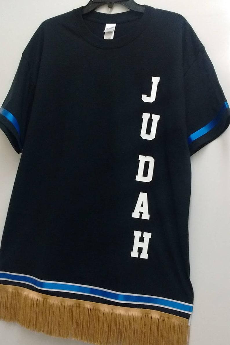 3ffa6593fe5 Hebrew T Shirt Garment Fringes Judah Israelite clothing for