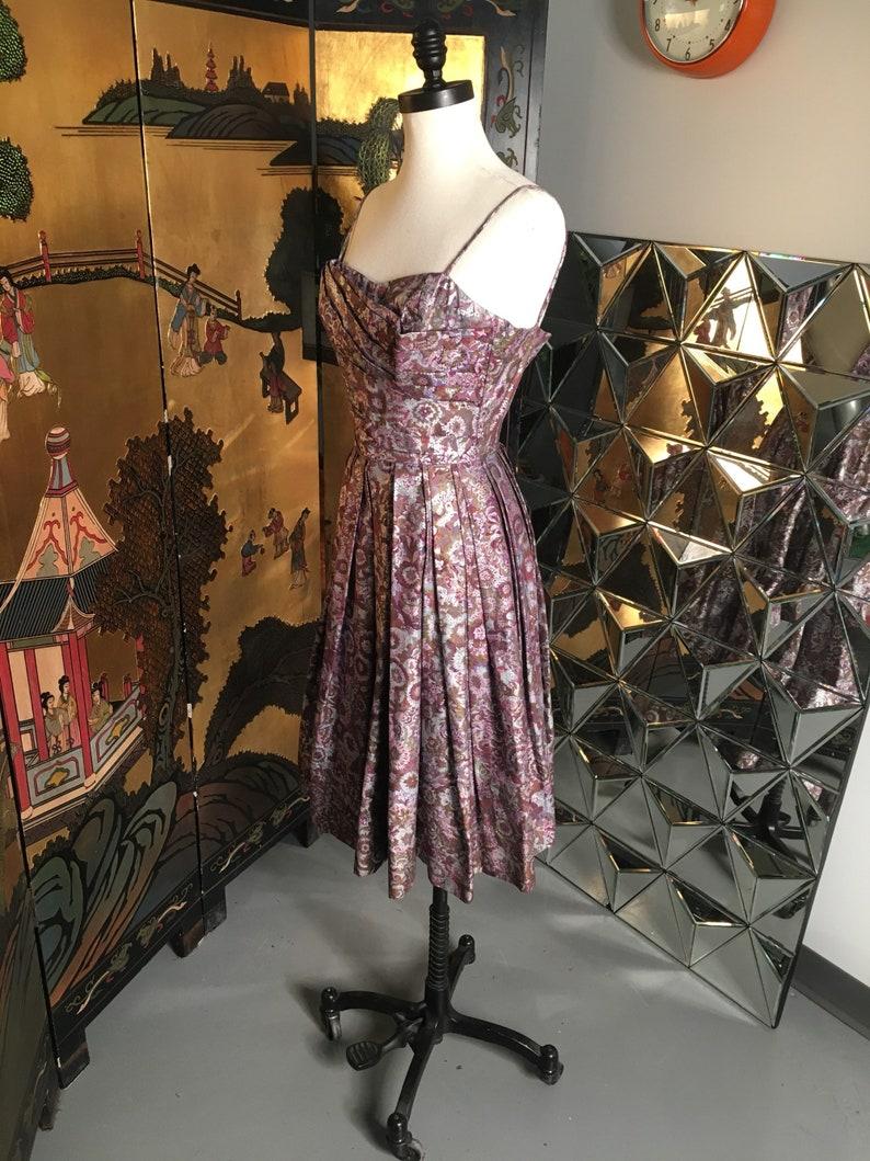 22c18e3f8274 1950's Alfred SHAHEEN Hawaiian Summer Dress HISTORIC   Etsy