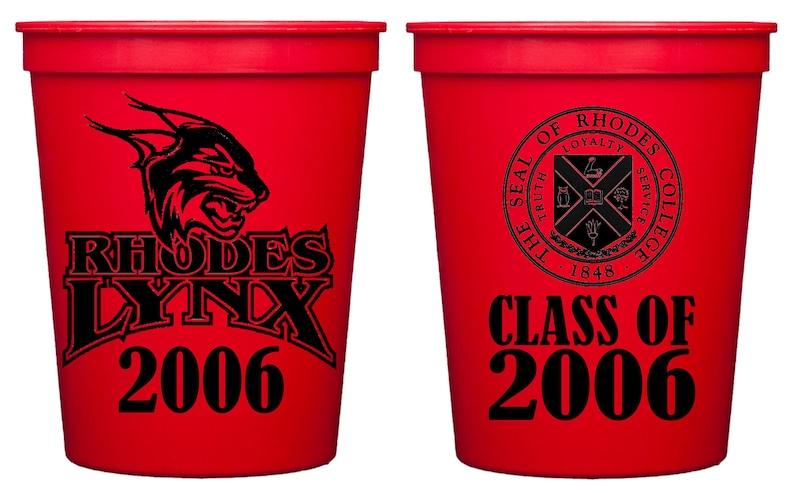 7a80b5088f7 Class Reunion Cups Reusable Plastic Cups Custom High School | Etsy