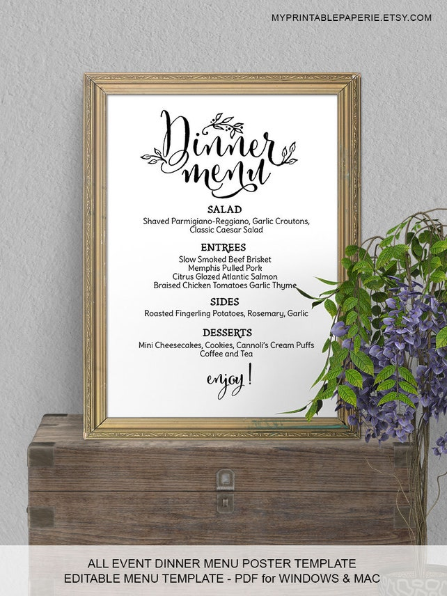 Seating Chart Template Assigned Table Wedding Seating