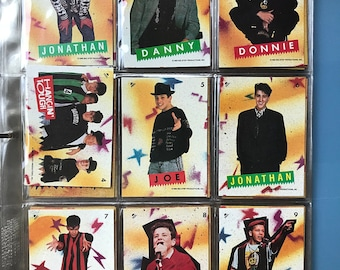 99 New Kids On The Block Collectible Cards NKOTB Ex Cond 2 Complete Sets