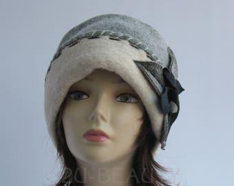 Plus size clothing womens hats plus size cloche hat handmade wool hat oversized winter hats for women church hat handmade clothing Plus size