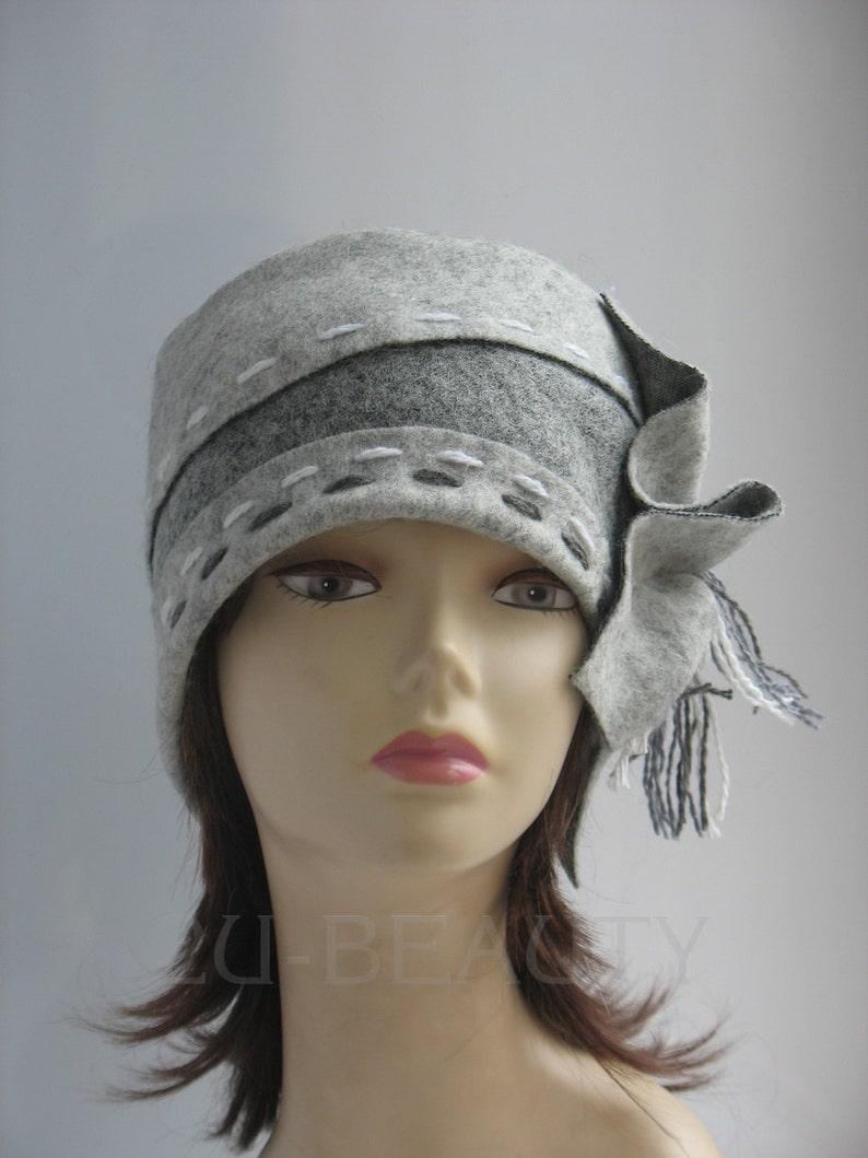 Winter Felt Hat Street Fashion Felt Races Hat for Ladies Day  25cb497357e