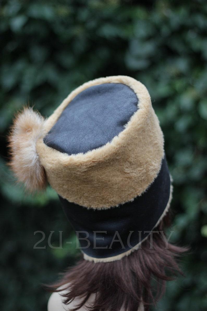 Hat Beanie 1960s brown accessory goth handmade Hat Fall Elegant Fashion winter wool goth gift ladies womens hat urban chic hat 1960s Beanie