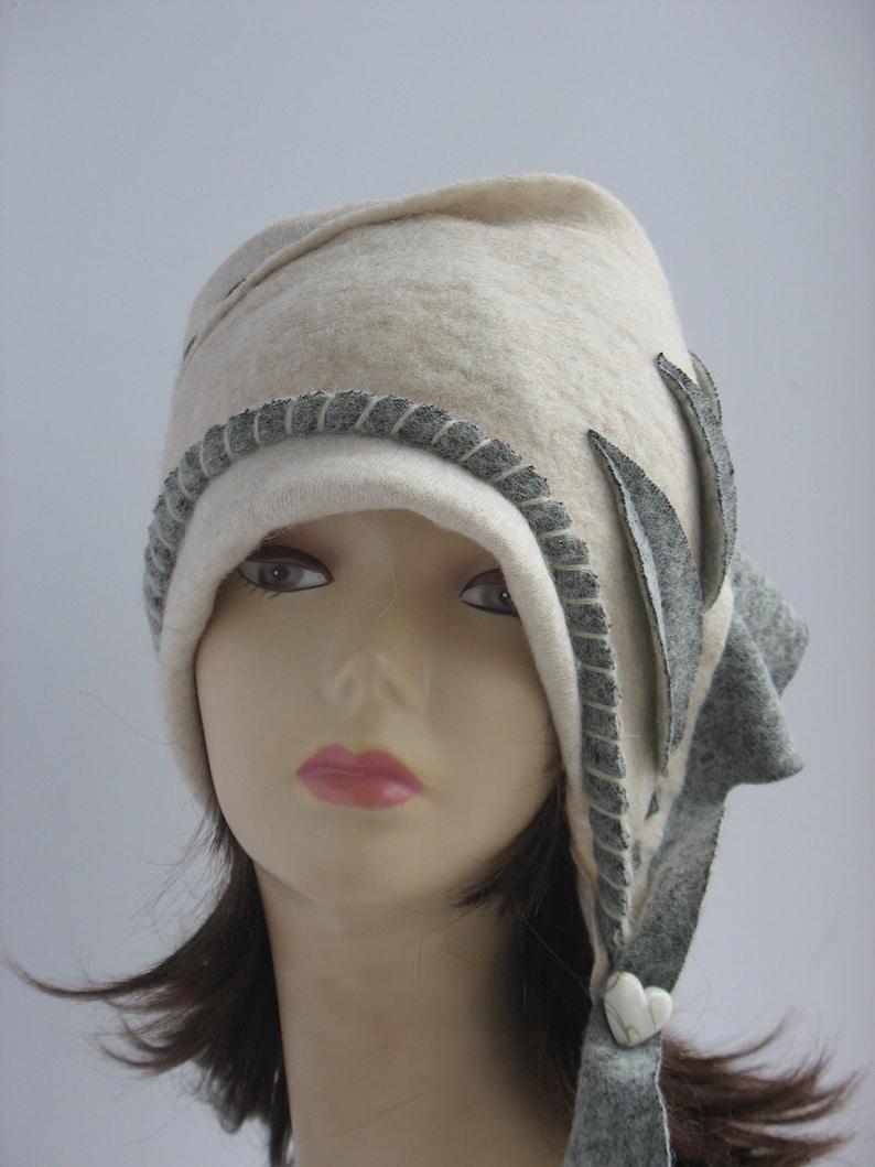 8a6d08056f6 Womens Hats Cloche Hat Felted Cloche Cap Retro Wool Hat 50s