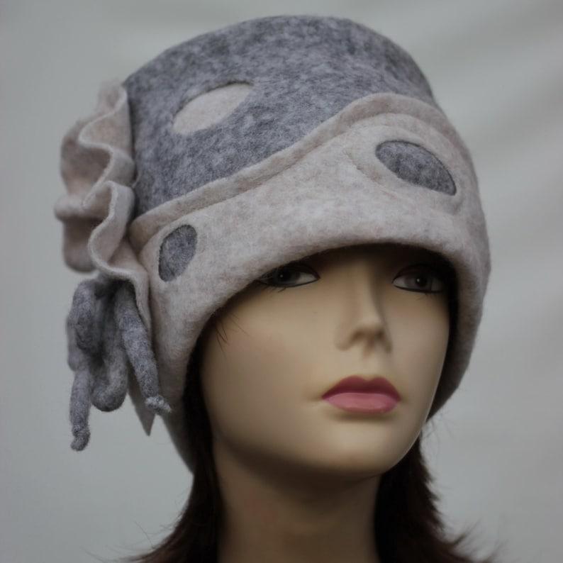 5374247f2a3 Felt Hat Womens winter hats Felted wool hats Felt Hat Women