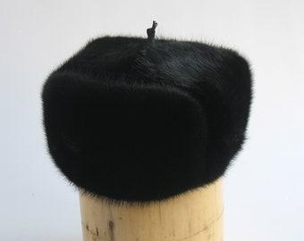Fur hat men Ushanka Russian fur hat Military russian hat made in RUSSIA Hat men Winter Hats Trapper Hat soviet warm hat mens trapper dad hat