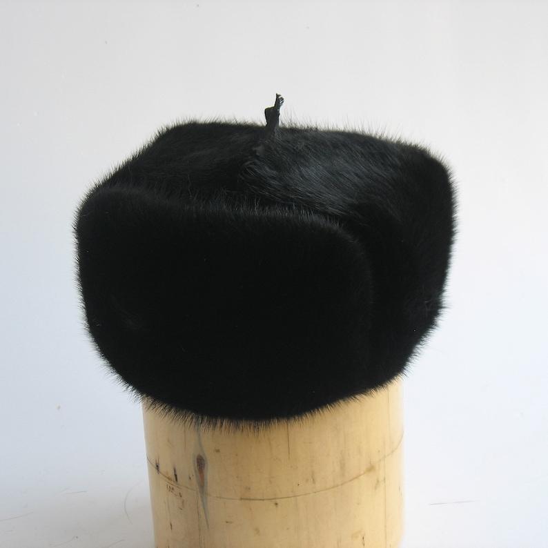 188f799157f Fur hat men Ushanka Russian fur hat Military russian hat made