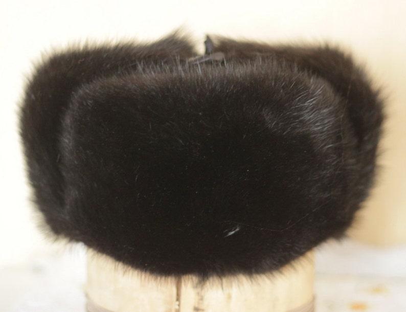 Fur hat men Ushanka Russian fur hat Military russian hat made  a0b56db4dd9