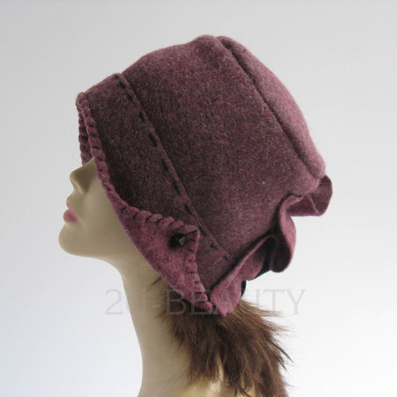 Clothing-gift Womens Ultra Violet Hats Small Size Women Hat  2f75b3938ca