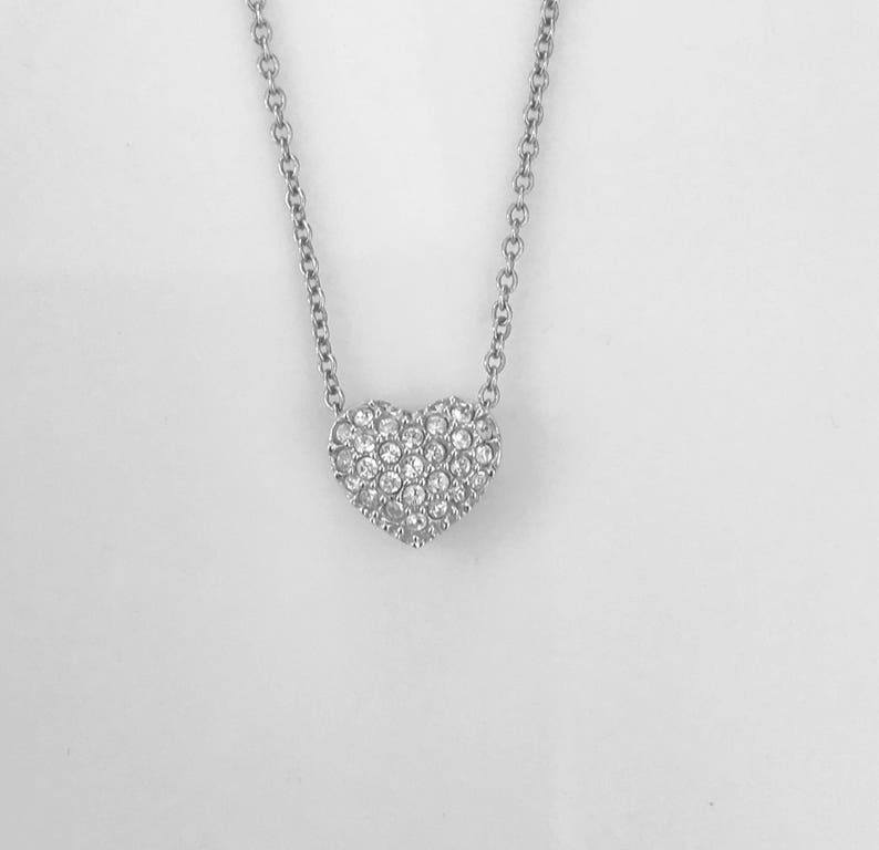 88123cacb7673 Swarovski necklace crystals heart pendant slider crystal hang tag premium  fashion jewelry on sale