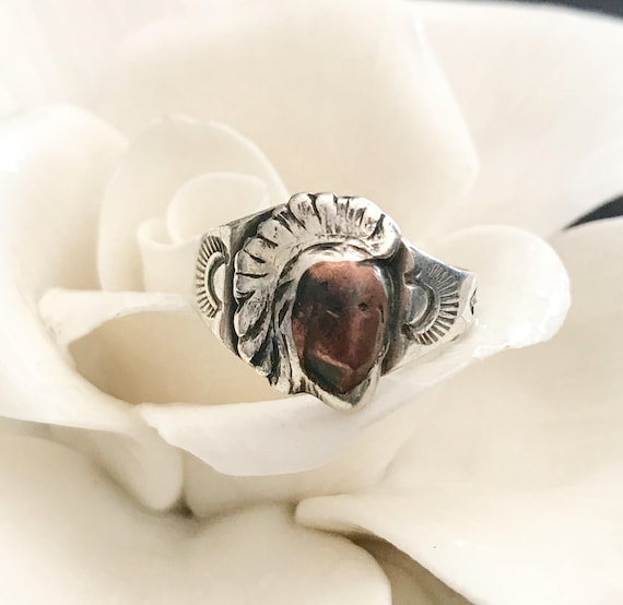 Navajo ring jewelry 925 sterling silver Indian Chi