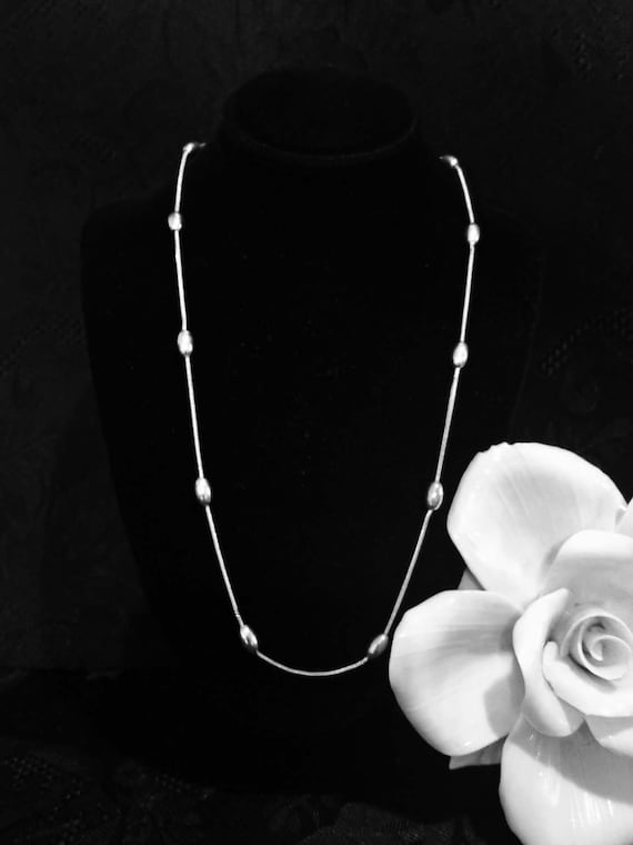 Designer jewelry necklace Sterling silver chain Ke