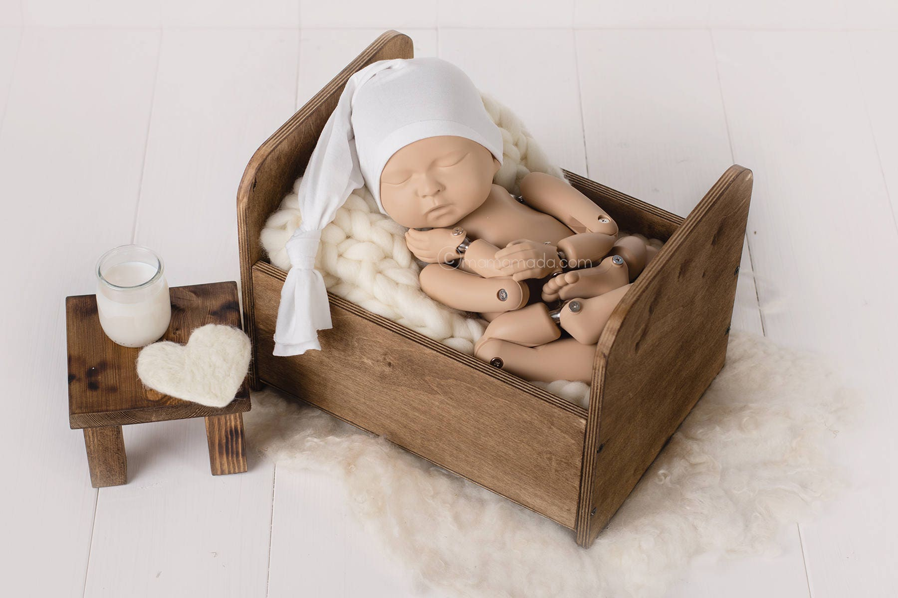 Newborn Photography Bed Prop