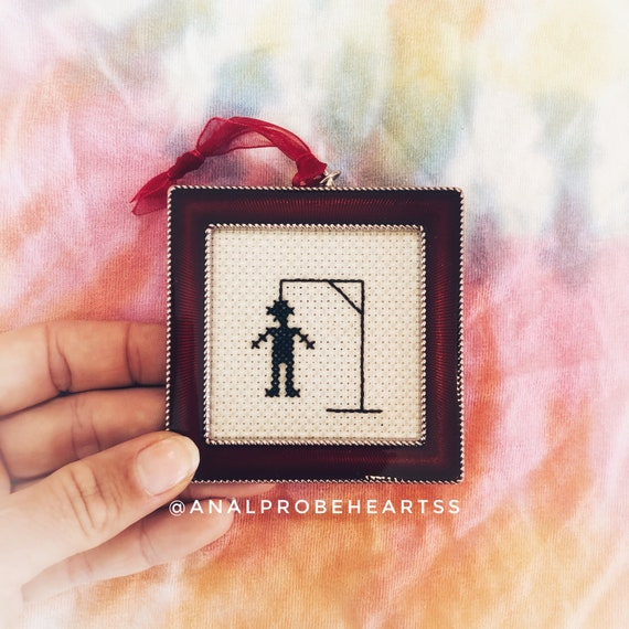Ready to ship - Hanging man ornament