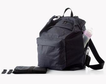 Blue diaper bag, Diaper bag backpack, Baby bag, Changing bag, Stroller bag, Convertible,Laptop backpack Crossbody bag,Tote bag.