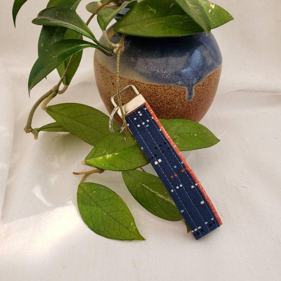 Blue Autumn Key Fob