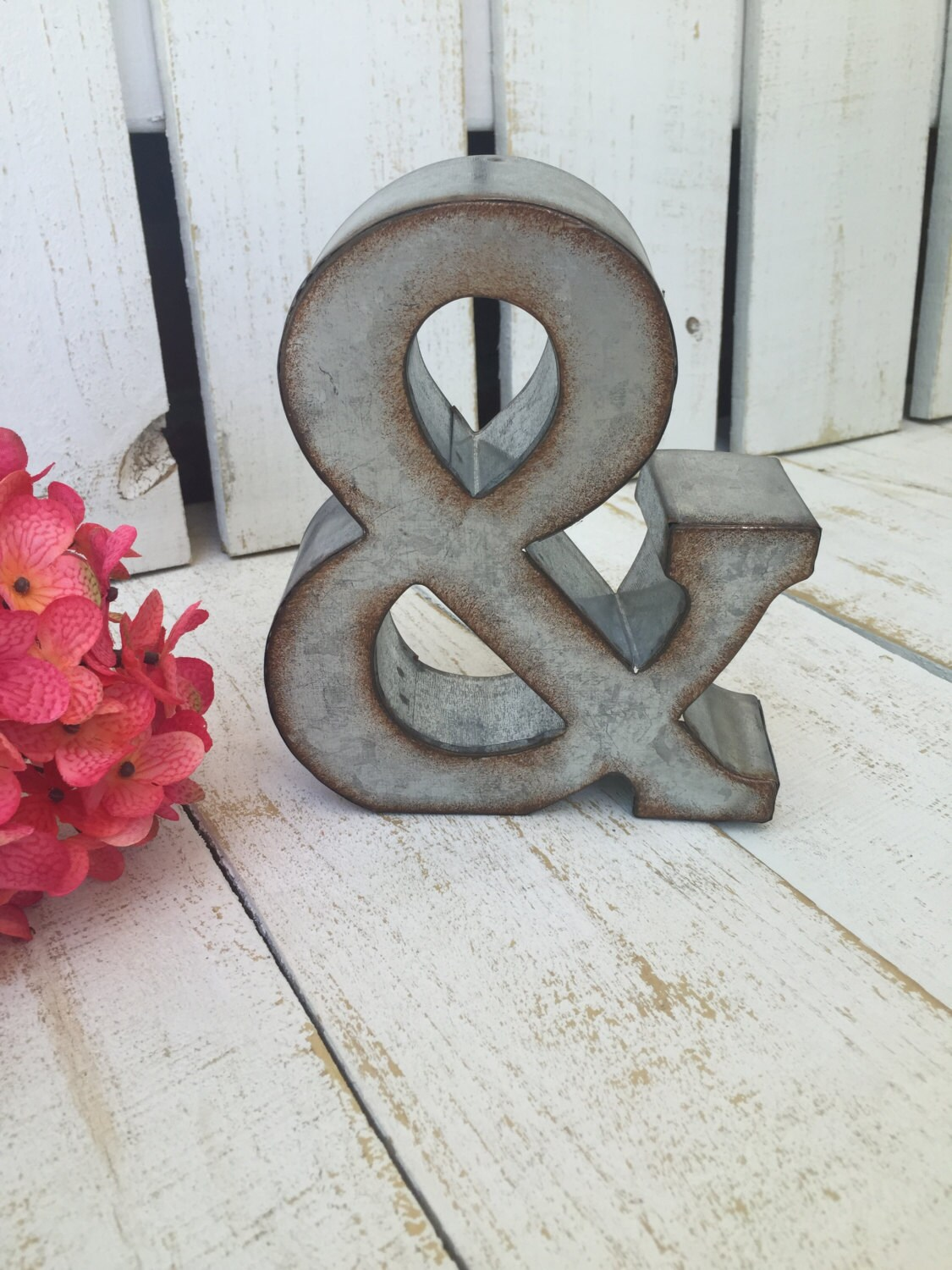 metal letter wall art metal letter galvanized letter ampersand home wall etsy 13994 | il fullxfull.962174238 oitb