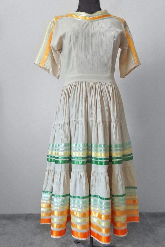 Vintage 1970's Patio Dress