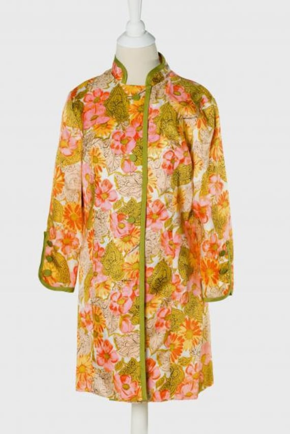 Vintage 1960s Mandarin Collar Jacket