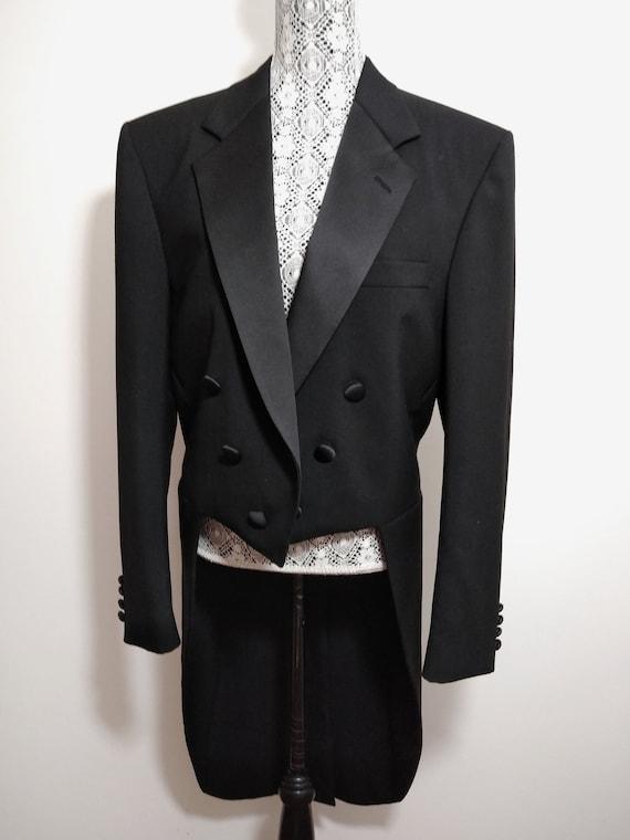 Perry Ellis Tuxedo Tailcoat Formal Jacket