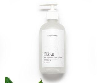 ACNE FACE WASH || Acne Cleanser || Natural Acne Treatment || Organic Cleanser || Anti Acne Cleanser || Cystic Acne Treatment