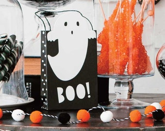 Assorted Halloween Bags (set of 12), Die Cut Gift Bags for Kids & Grandkids, Clients too!