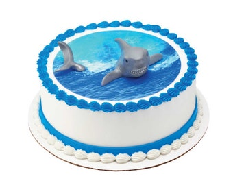 Cute Shark Family Cake Decorations for Shark Theme Cake for Kids Birthday Party /& Baby Shower /& Shark Theme Party Supplies SIENON Shark Cake Topper Acrylic Shark Baby Happy Birthday Cake Topper