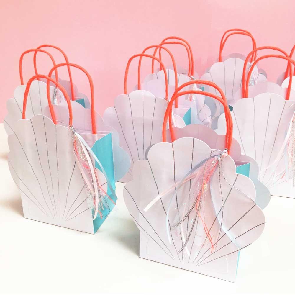 Mermaid Party Bags Meri Meri Gift Bags 8 Under the Sea | Etsy