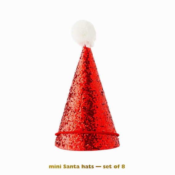 Christmas Party Hats Reindeer Santa Crown Xmas Festive Tree Make Your Own