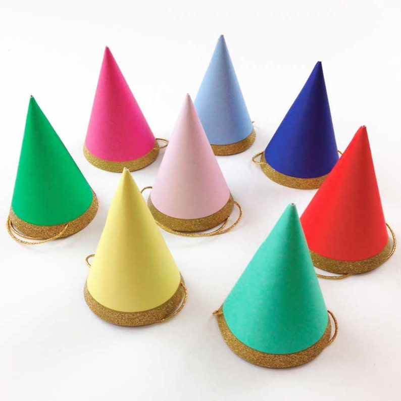 Mini Party Hats 8 Meri Happy Birthday Toot Sweet