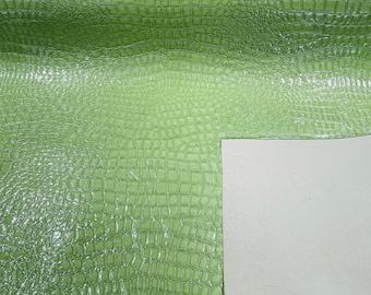 Dark Burgundy Crocodile Vinyl Embossed 3D Scales-Faux Leather-Sold By Yard