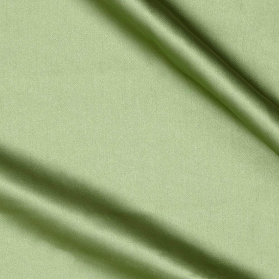 """Sage Green  Light Weight Charmeuse Satin Fabric for Wedding Dress 60"""" inches wide sold by The Yard."""