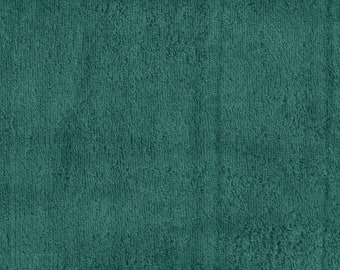 """Teal Solid Polar Fleece Fabric Anti-Pill 58"""" Wide Sold by The Yard."""