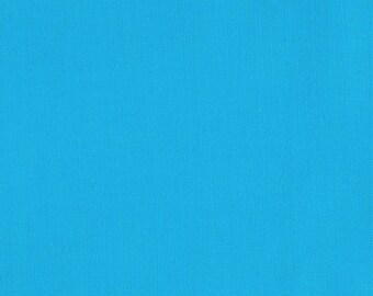 """Turquoise 58-59"""" Wide Premium Light Weight Poly Cotton Blend Broadcloth Fabric Sold By The Yard."""