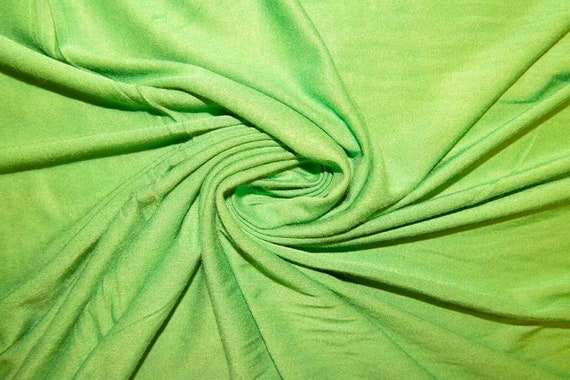 """New Creations Fabric & Foam Inc, 58/60"""" Wide, 95 Cotton / 5  Spandex, Cotton Jersey Spandex Knit Blend, 4 Way Stretch Fabric"""
