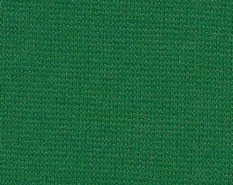 """Kelly Green 59/60"""" Wide 100% Polyester Wrinkle Free Stretch Double Knit Scuba Fabric Sold By The Yard."""
